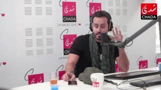 فيديو سعد رمضان ينسحب على الهواء بعد سؤال محرج عن حبيبته!