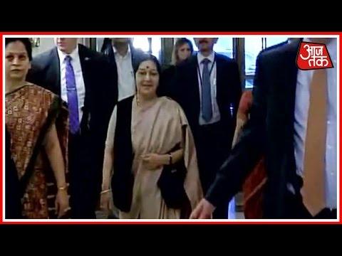 Sushma Swaraj To Address UN Tomorrow