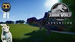 TEK LOKMADA YUTTU - Jurassic World Evolution #1 [Türkçe]