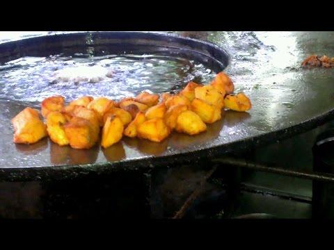 Punjabi Aloo Chaat - Best Delhi Street Food   Indian Street Food by Gluttony TV