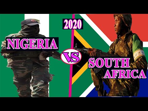 Nigeria vs South Africa military Power 2020 (Latest Update)