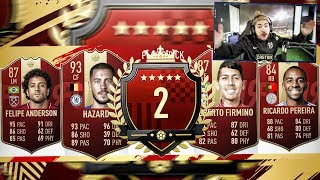 2ND IN THE WORLD TOP 100 REWARDS!! RED IF PLAYER PICKS! FIFA 19