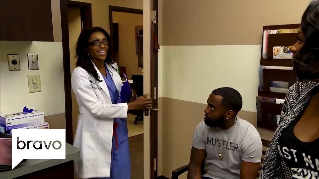 RHOA: Kandi and Todd Have Trouble at the OB/GYN | Bravo