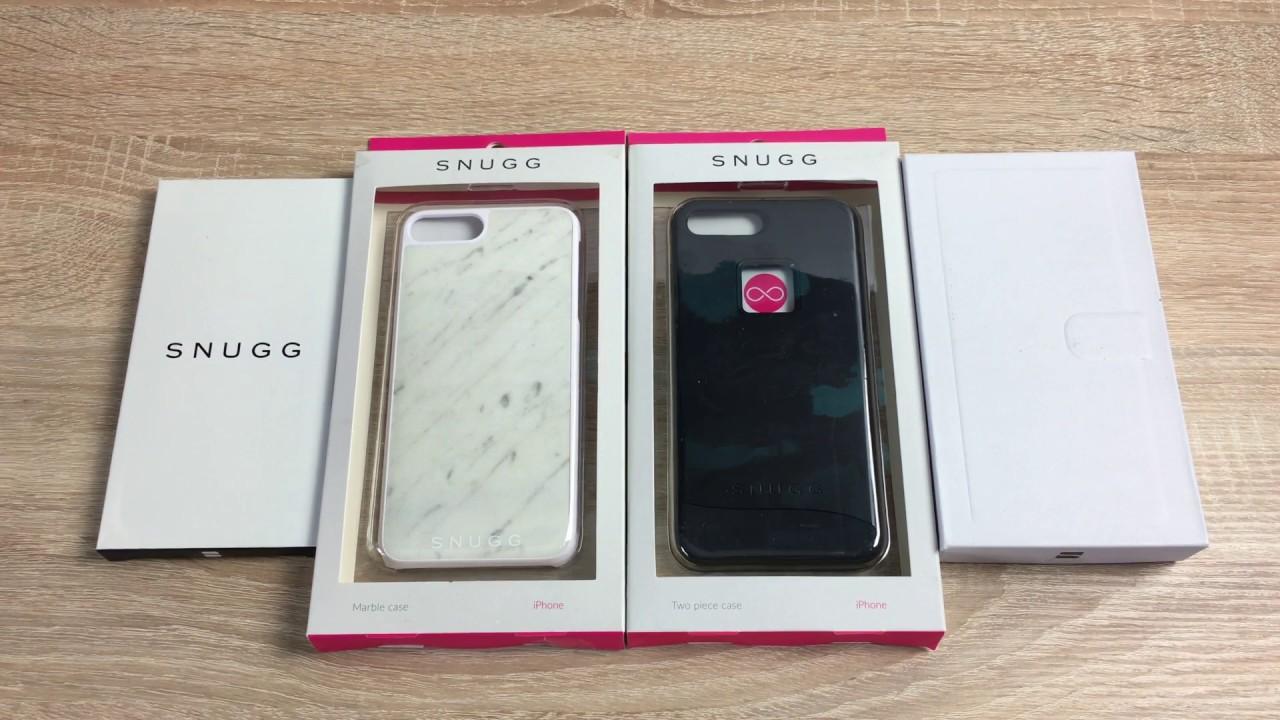 quality design ead7b 03e95 Snugg iPhone 7 Plus Case Unboxing