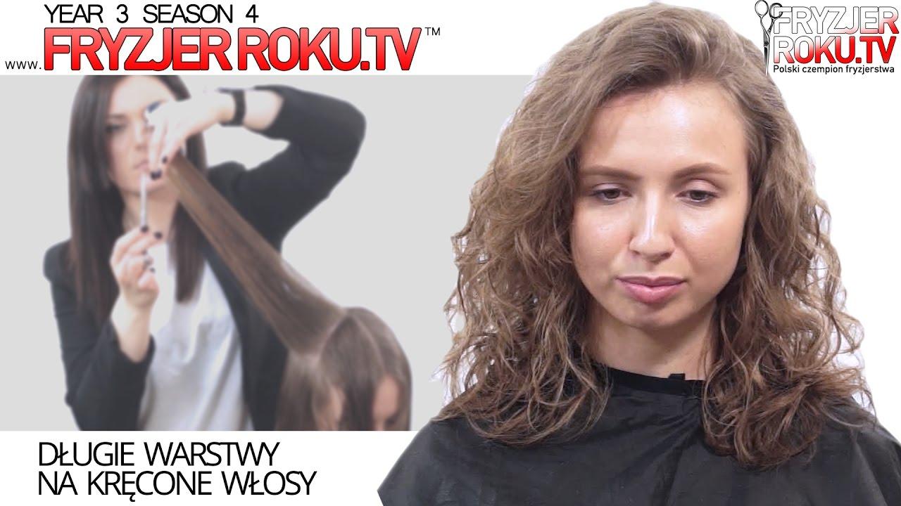 Długie Warstwy Na Kręcone Włosy Fryzjerrokutv