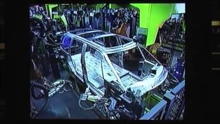 Fabrication du Renault Matra Espace jusqu'en 2002 à Romorantin