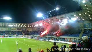 Piast Gliwice vs Legia Warszawa oprawa i doping