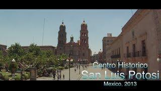 Centro Historico San Luis Potosi, Mexico HD viajando por mexico