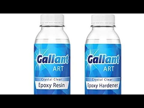 Seahorse Resin Art & New Resin Review #resinart#epoxyart#gallantresin