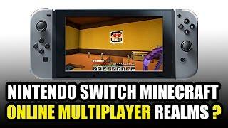 Nintendo Switch MINECRAFT - ONLINE MULTIPLAYER