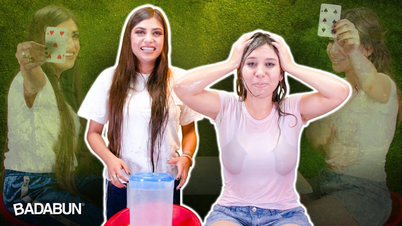 el-reto-de-las-camisetas-mojadas-con-youtubers