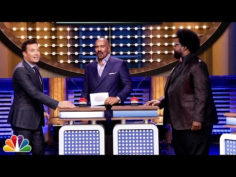Download Youtube: Tonight Show Family Feud with Steve Harvey and Alison Brie
