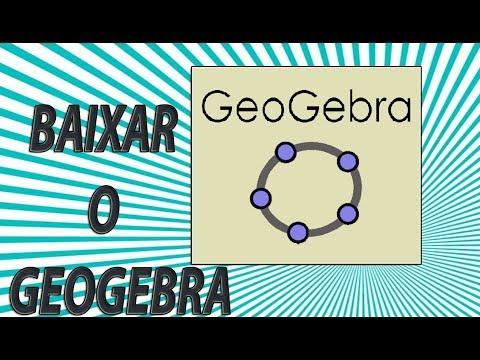 Como Baixar O GEOGEBRA