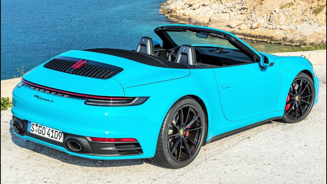 2020 Porsche 911 Carrera S Cabriolet Pure Driving Pleasure Youtube