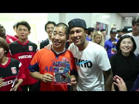 Neymar Jr - Japão 2015 - Making Of Fuji TV I