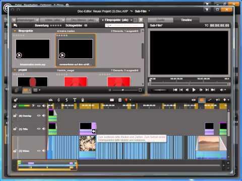 Mehrere Filme auf eine Disc brennen mit Avid Studio