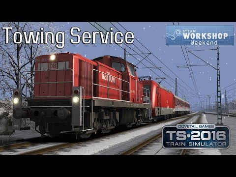 Train Simulator 2016 Workshop Weekend #6: DB BR294 -  Munich to Augsburg - Towing Service
