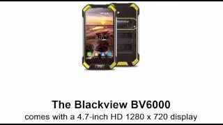 Blackview BV 6000 новий захищений і потужний смартфон