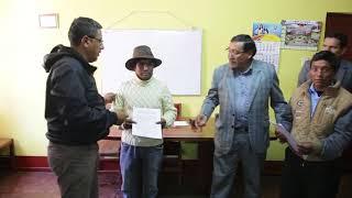 Llacuash y Ututupampa  contarán con nuevos sistemas de riego