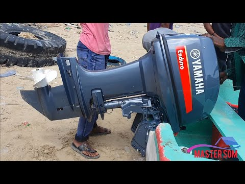 Testing New yamaha outboard 2 stroke hp 40