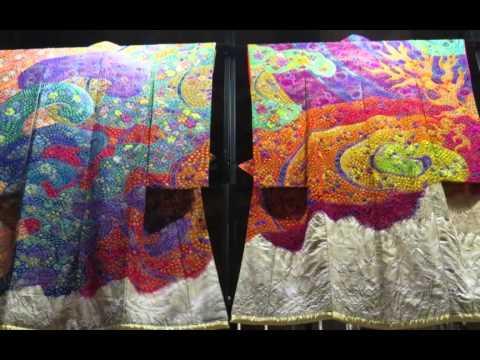 Kimono exhibition , Ichiku Kubota 2014.2.1-14