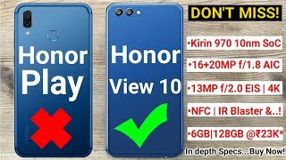 Honor Play vs Honor View 10 -SHOCKING!! DON