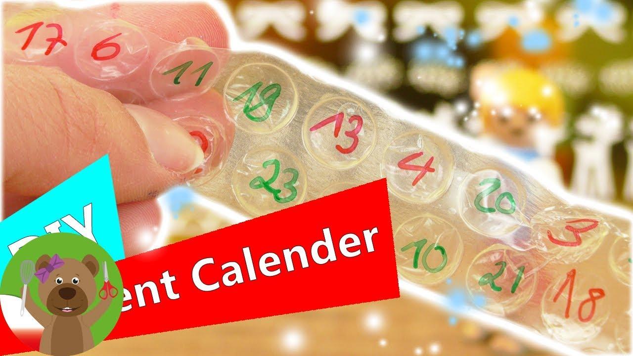 DIY kalendarz adwentowy z foli bąbelkowej | odliczenie dni do Świąt strzelającymi bąbelkami