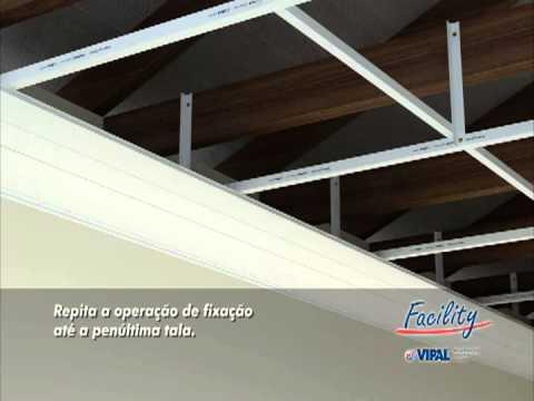 9df955745d80 Manual de Instalação Forros em PVC BRP Facility - YouTube