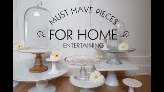 MUST HAVE PIECES FOR HOME ENTERTAINING streaming
