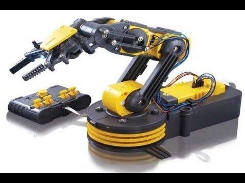 видео: Руку робот (Манипулятор) , делают так !!!