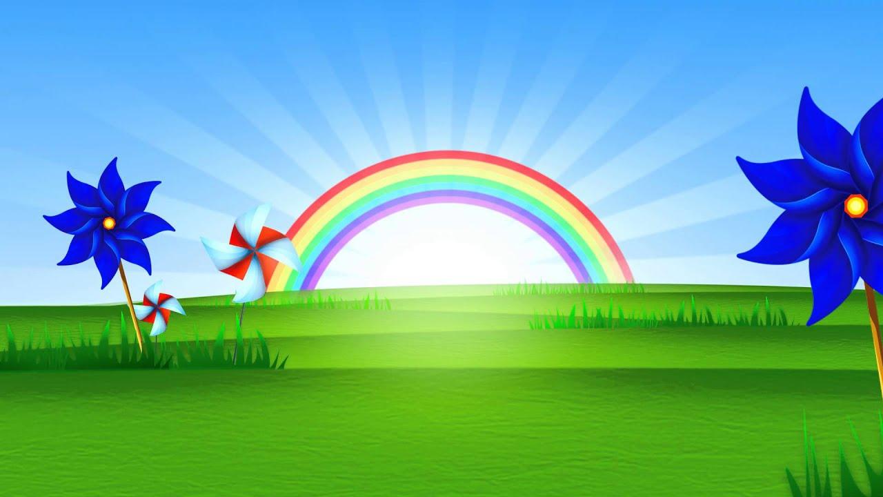 fondo video background full hd rainbow rising youtube playground clip art free printable playground clip art black and white