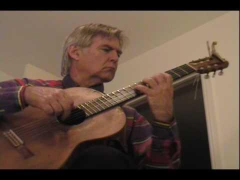 Gordon Plays classical guitar