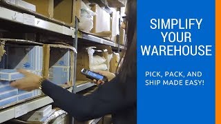 Pick, Pack, and Ship Process - Demo with iOS Wireless Barcode Scanners [Step-By-Step]
