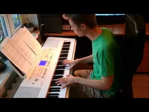 Beethoven - Moonlight Sonata (1st Movement) (piano cover by Toms Mucenieks)