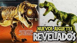 NUEVOS JUGUETES REVELADOS DE JURASSIC PARK