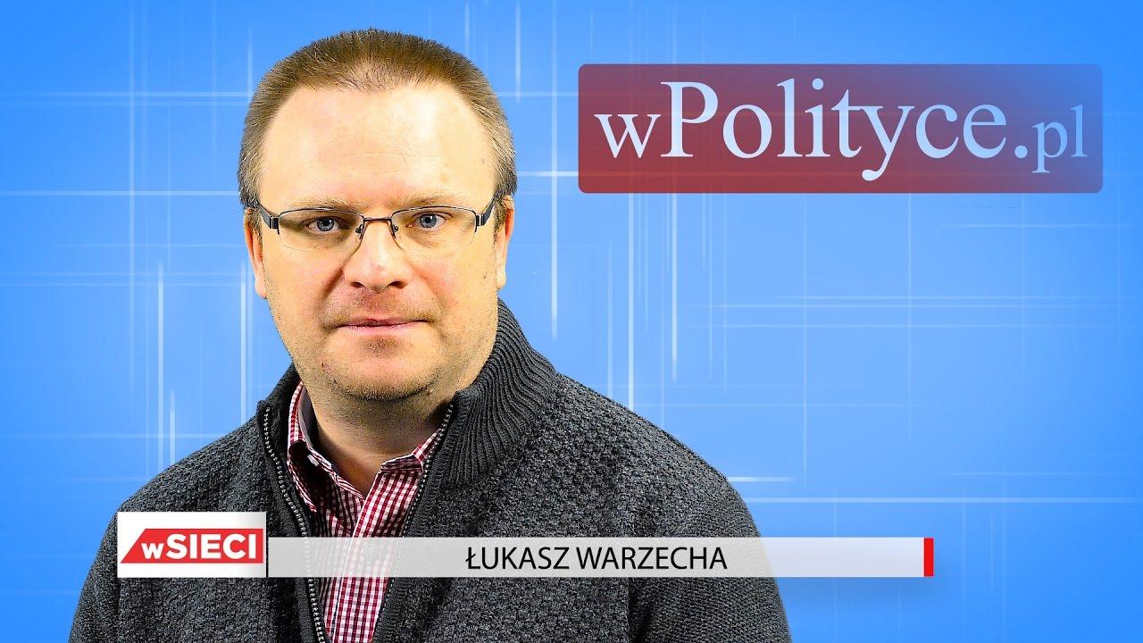 Łukasz Warzecha po rocznicy wygranej PiS