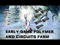 Warframe Early Game Polymer Bundle and Circuits Farming