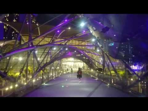 [VISIT SINGAPORE] Inside HELIX BRIDGE (Full HD)