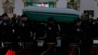 Raw Video: Funeral for Slain NYC Officer