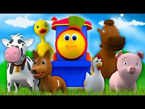 รถไฟบ๊อบไปฟาร์ม | คอลเลกชันรถไฟบ๊อบ | รถไฟบ๊อบคอลเลกชัน | Bob Train Visit To Farm | Kids Tv Thailand