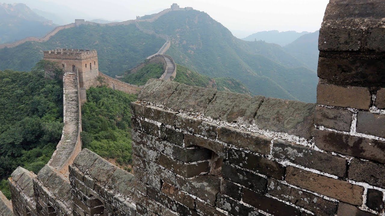 Seven Wonders Of The World The Great Wall 360 Video Youtube