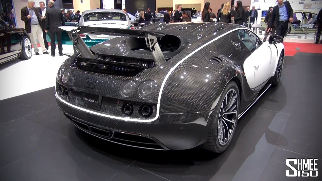 first look mansory vivere bugatti veyron at geneva 2014. Black Bedroom Furniture Sets. Home Design Ideas