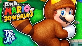 BIG TANOOKI BUTT! - Super Mario 3D World | Wii U (Part 17)