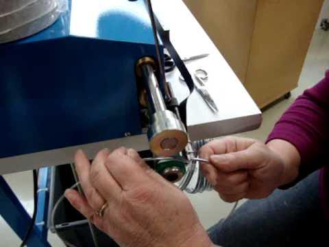 lampshade making binding machine VPF Amsterdam   1