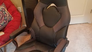 Assembly Tutorial and Review of Racing Style Leather Gaming Chair from Amazon