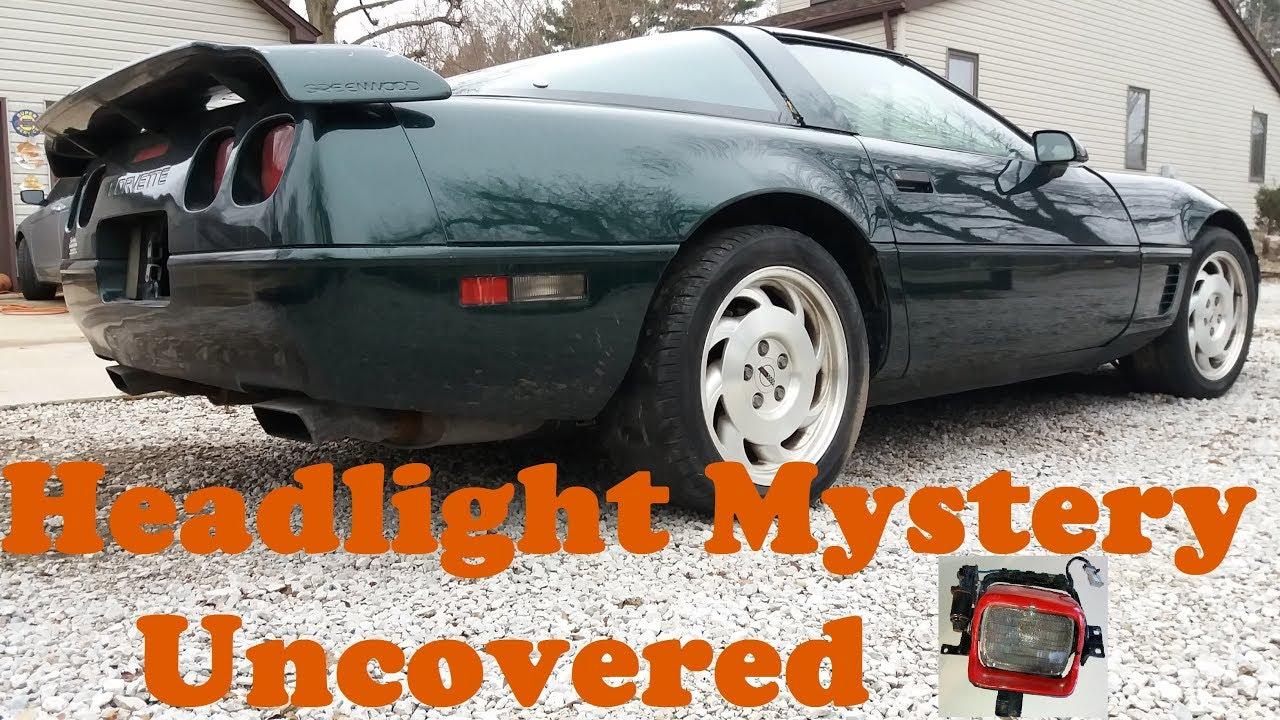 C4 Corvette 1984-1987 Right Headlight Motor