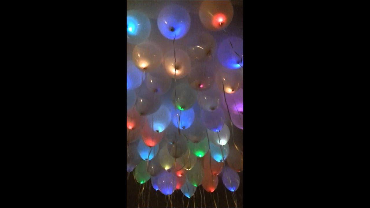 palloncini colorati elio a led youtube