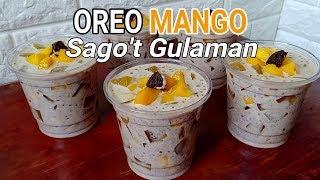 Oreo Mango Sago't Gulaman Recipe | How to Make Oreo Mango Sago't Gulaman
