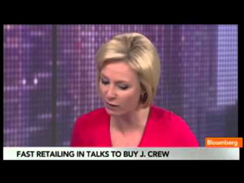 Fast Retailing Eyes Purchase of J. Crew in $5B Deal
