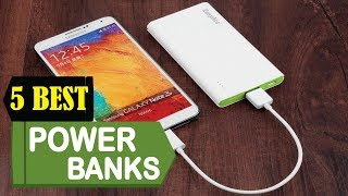 5 Best Power Banks 2018 | Best Power Banks Reviews | Top 5 Power Banks